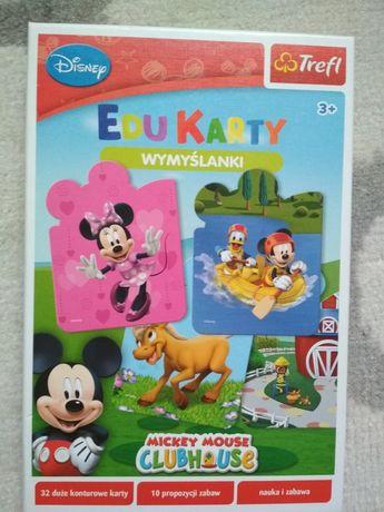 Gra Edu karty Trefl z Mickey, Minnie