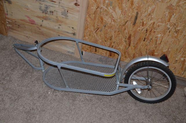Przyczepka do roweru towarowa wyprawowa