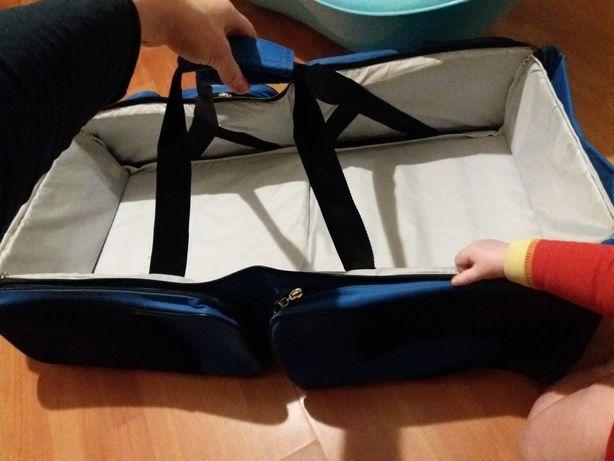Складная и просторная люлька-сумка-переноска в коляску поликлинику