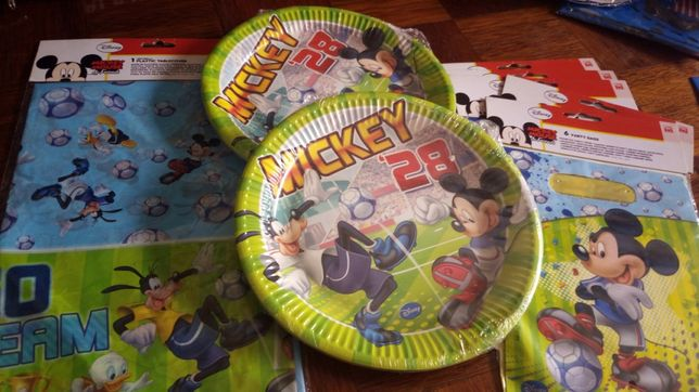 Conjunto festa de aniversário mickey da disney