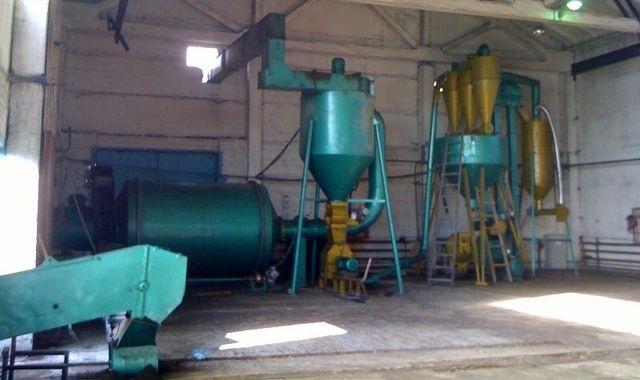 Линия по производству топливных гранул (пеллет)
