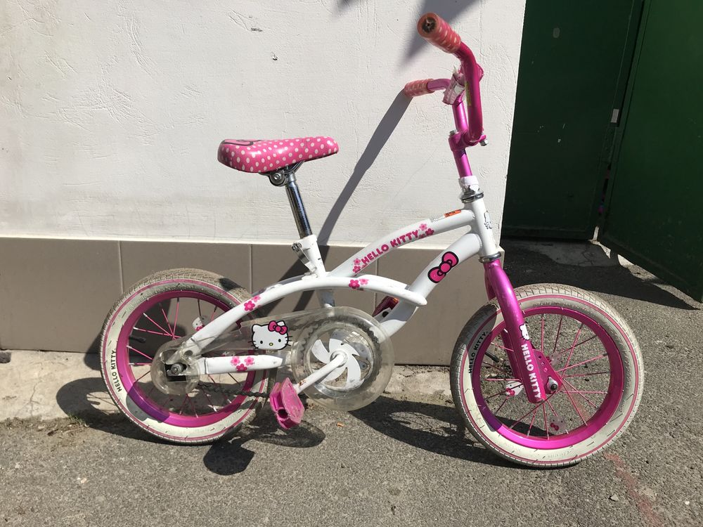 Продам велосипед Hello Kitty, 14 дюймов