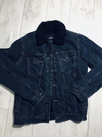 Джинсовка от Zara , джинсовка зима , демисезон