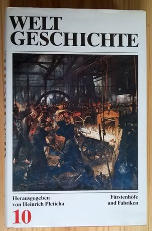 Weltgeschichte - Historia powszechna po niemiecku - tom 10 - XIX w.