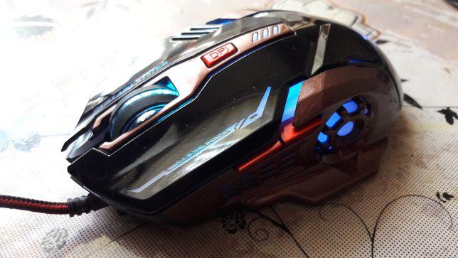 Профессиональная геймерская мышь N3 с подсветкой Новая!Гарантия