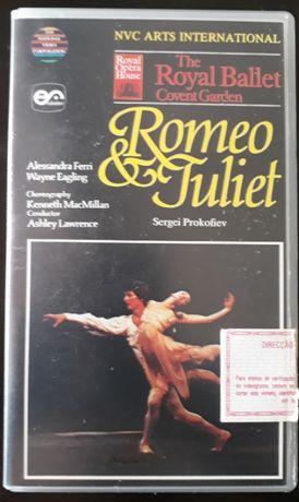 "Vhs bailado ""Romeu & Juliet"" de Sergei Prokofiev"