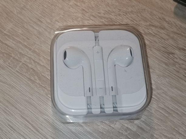 Słuchawki Apple Earpods jack 3,5mm. Nowe, Zapakowane, W folii
