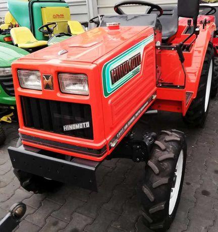 Traktorek ogrodniczy 4x4 Hinomoto N179. Diesel 3 cylindry 18.5 KM WOM