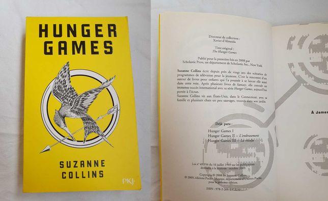 Книга Hunger Games (Голодные игры) на французском / первая часть