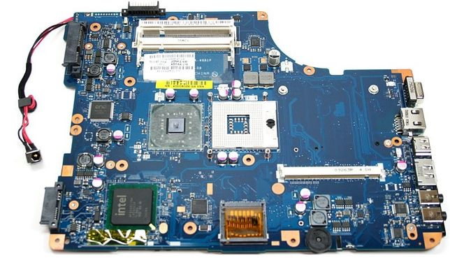 Motherboard Toshiba L500 e PC completo