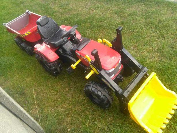 Большой педальный трактор детский