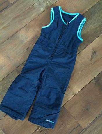 Комбинезон штаны зимние columbia 2-4г тёплые 104см мальчик 3т