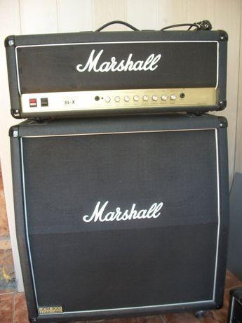 Marshall JCM 900sl-x + кабинет с G12-T75