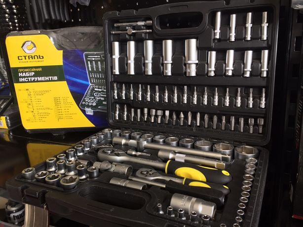 Набор инструментов для авто «Сталь» 108 единиц