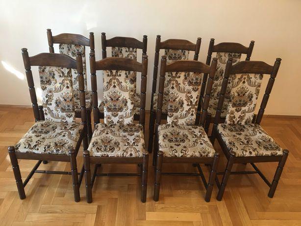 Krzesła bukowe 8 szt. ZPM Radomsko