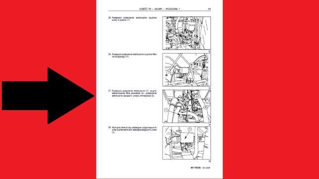CASE JX60, JX70, JX80, JX90, JX95 Instrukcja NAPRAW J POLSKI!