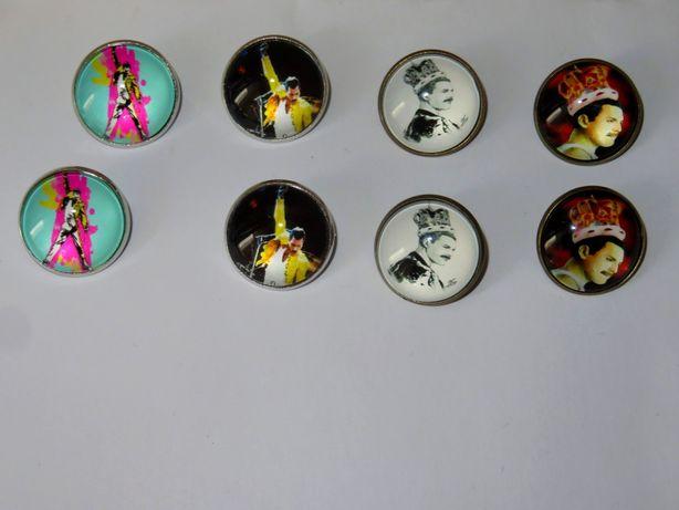 Przypinki pins pin Queen Freddie Mercury Rock Music