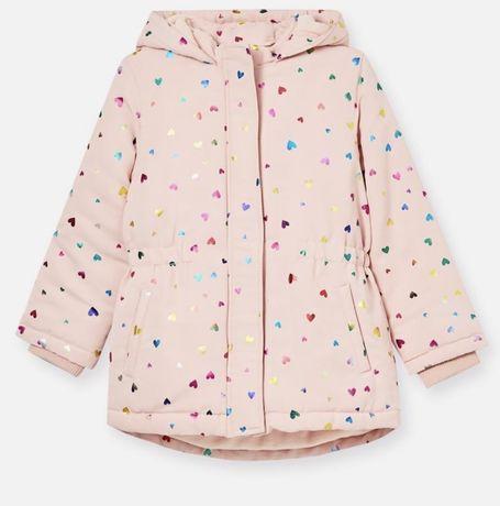 Детская куртка парка sinsay на девочку