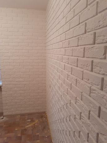 Гіпсова плитка під цеглу