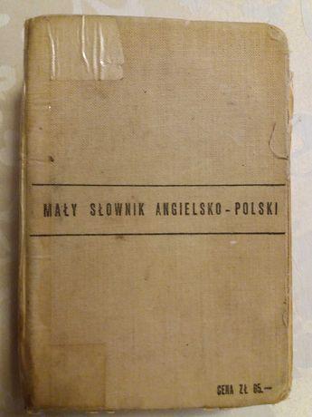 Maly slownik angielsko - polski