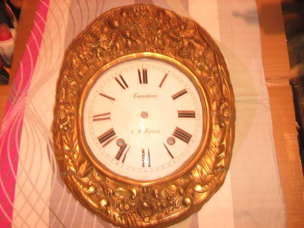 Tarcza do zegara Comtoise porcelanowa