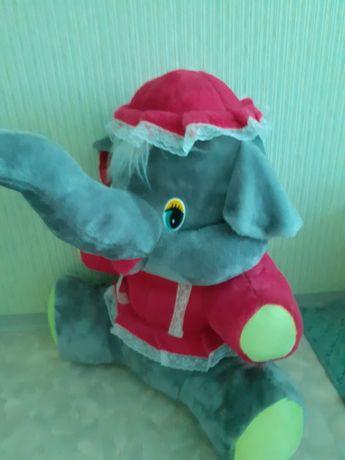 """Большая мягкая игрушка """"Слон"""""""