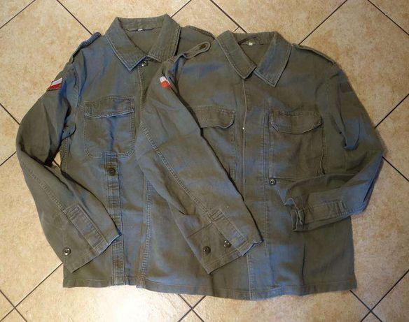 """2 kurtki wojskowe """"bundeswehr"""""""