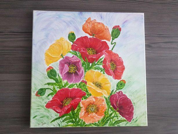 Obraz recznie malowany