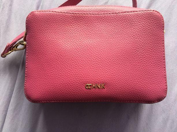 Różowa torebka Ochnik pasek torba