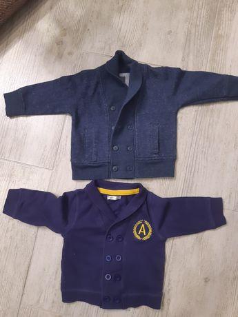 Eleganckie bluzy marynarki dla chłopca rozmiar 68