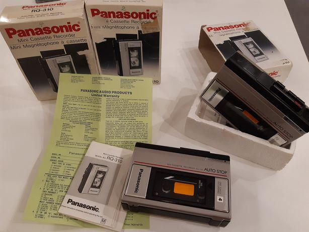 Panasonic Mini Cassette Recorder RQ-310 drugi dyktafon GRATIS