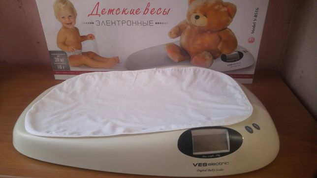 Электронные весы детские VES V-BS16