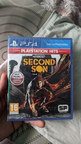 Infamous Second Son PS4 PL nowa folia