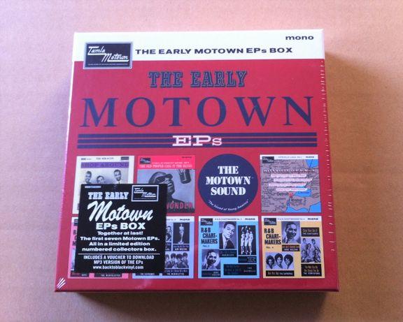 """Vários: The Early Motown EP's Vol.1 (Vinil 7LPx7"""") [Novo - Selado]"""