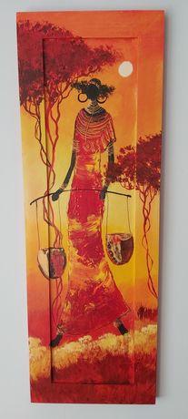 Obraz olejny, malowany na plycie