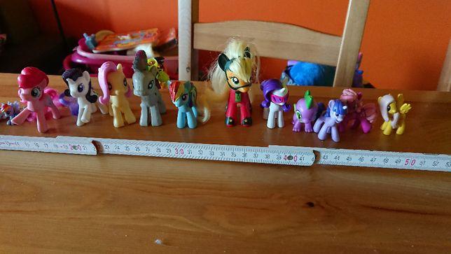 Zestaw małych kucyków MyLittle Pony i inne