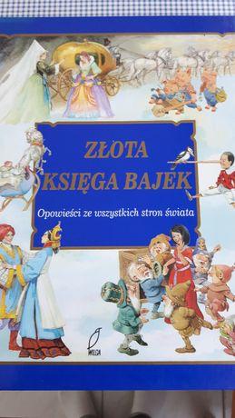 Z ł o t a K s i ę g a B a j e k - fantastyczne wydanie dla dzieci!