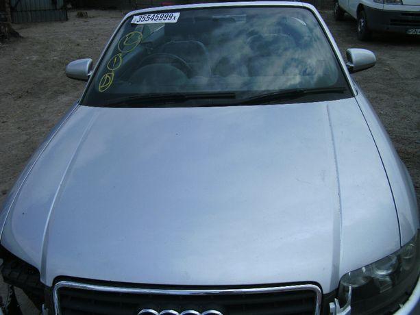 Audi A4 B6 Cabrio Maska Zderzak Pas