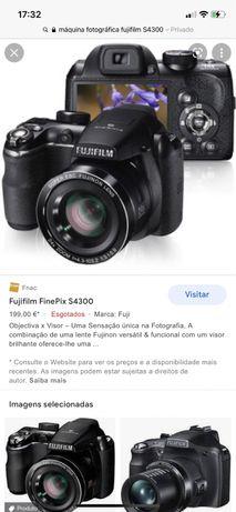 Maquina fotografica com pouco uso