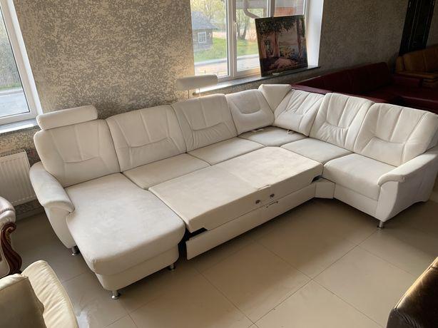 Великий П-образний кутовий диван розкладний з Німеччини