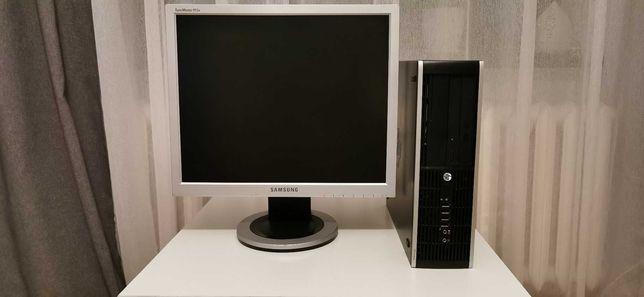 Komputer/Monitor HP AMD A6-5400B/5GB DDR3/160GB HDD/HD 7540D/W7