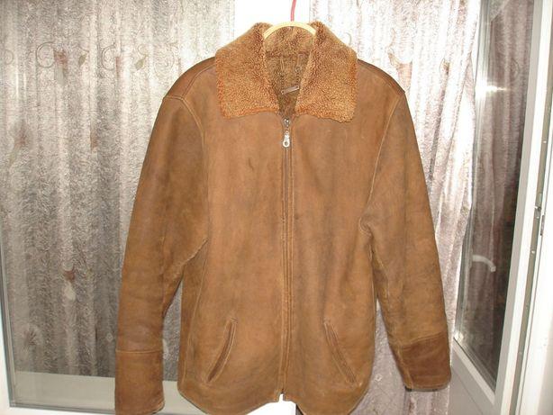 Куртка-пилот мужская,натуральная кожа.