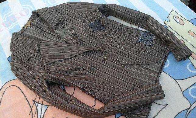 Фирменный котоновый пиджак