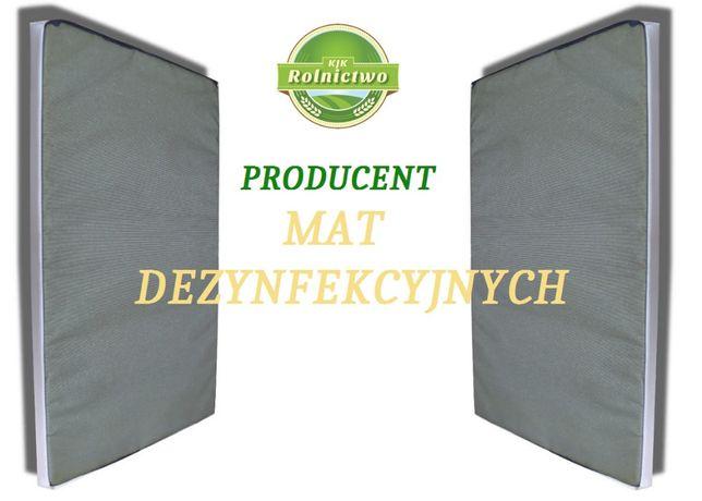 MATY DEZYNFEKCYJNE przejściowe/przejazdowe - MATA 0,7 x 1m - PRODUCENT