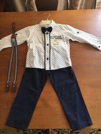 Костюм, штани і сорочка, брюки и рубашка, бабочка