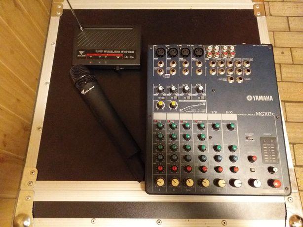 Kompletny zestaw nagłośnienia Yamaha Jbl