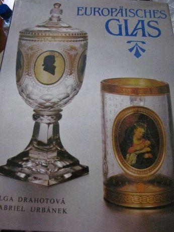 """książka album j. niemiecki """"Europäisches glas"""".(Szkło europejskie) , O"""