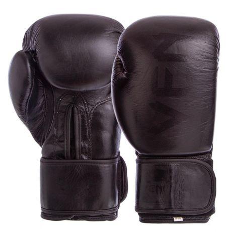 Перчатки боксерские Venum, кожа, PU, бесплатная доставка