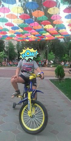 Велосипед для мальчика 4-6лет