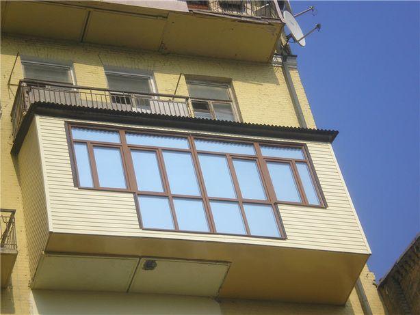 Балкон пристройка. Расширение.Построение.Под ключ.Любая сложность!